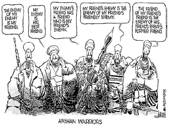 Afghan warriors - different meanings of the enemy