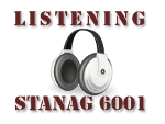 Listening comprehension tasks according to STANAG 6001 - military English